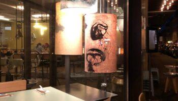 Lichtinstallation, Auftragsarbeit für Coming Soon - Zürich
